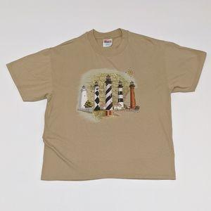 1999 South Carolina Light House T-shirt